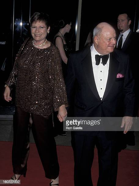 Comic Don Rickles and wife Barbara Sklar attend 29th Annual American Film Institute Lifetime Achievement Awards Honoring Barbra Streisand on February...