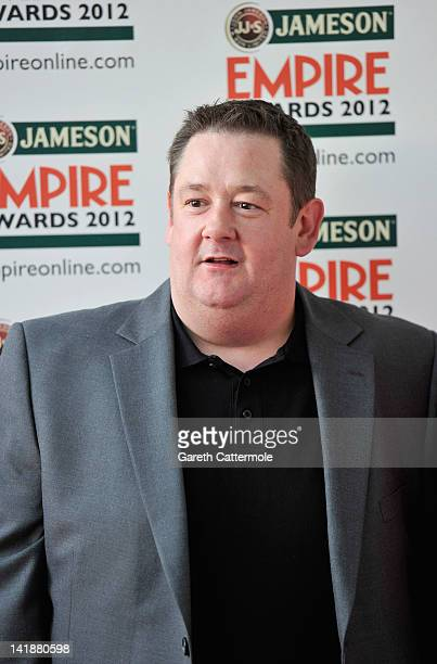 Comic Johnny Vegas attends the 2012 Jameson Empire Awards at the Grosvenor House Hotel on March 25 2012 in London England