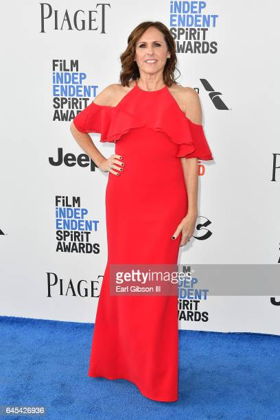 Comic Molly Shannon attends the 2017 Film Independent Spirit Awards on February 25 2017 in Santa Monica California