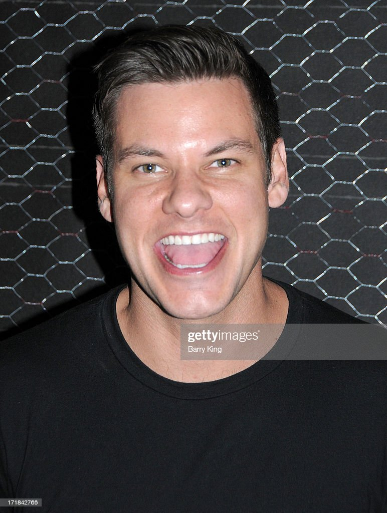 Comic/actor Theo Von performs at The Hollywood Improv on June 28, 2013 in Los Angeles, California.