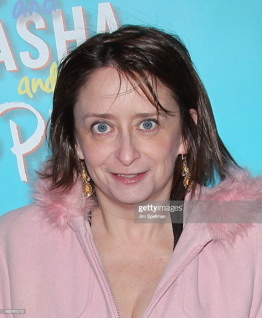 Comic/actress <a gi-track='captionPersonalityLinkClicked' href=/galleries/search?phrase=Rachel+Dratch&family=editorial&specificpeople=209387 ng-click='$event.stopPropagation()'>Rachel Dratch</a> attends the 'Vanya And Sonia And Masha And Spike' Broadway opening night at The Golden Theatre on March 14, 2013 in New York City.