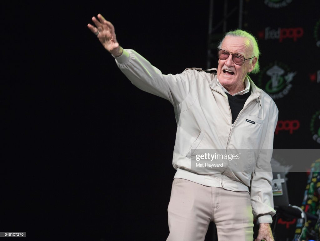 Comicbook writer Stan Lee speaks on a panel during Emerald City Comic Con at Washington State Convention Center on March 4, 2017 in Seattle, Washington.