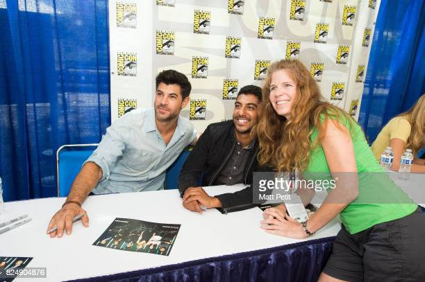 STITCHERS ComicCon Cast and executive producers from Freeform's hit original series 'Shadowhunters' and 'Stitchers' were featured at this year's San...