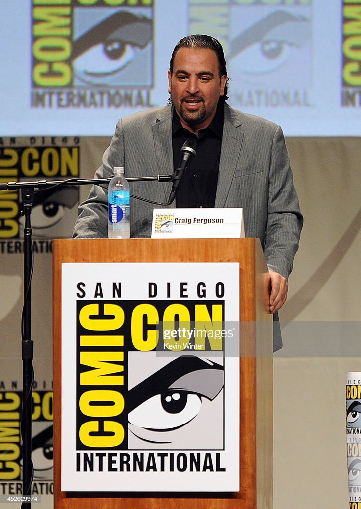 Comic-Con International Director of Programming Eddie Ibrahim attends the DreamWorks Animation presentation during Comic-Con International 2014 at the San Diego Convention Center on July 24, 2014 in San Diego, California.