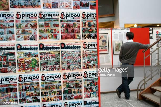 Comics at the Centre Belge de la Bande Desinee.