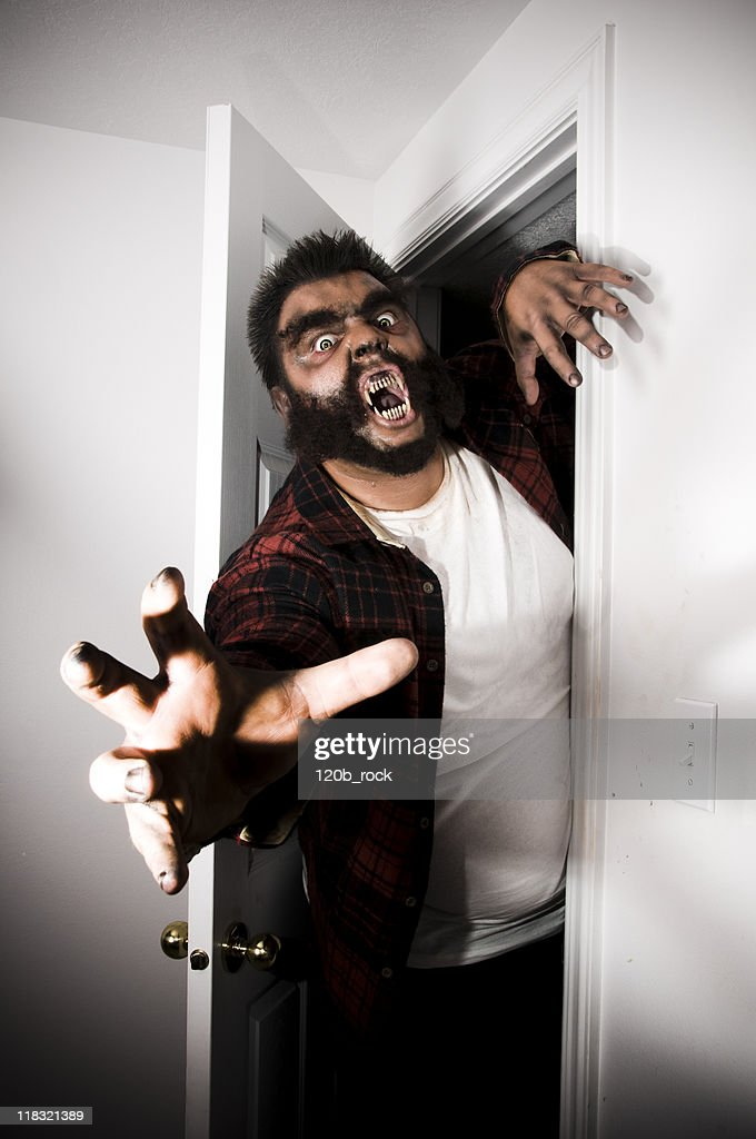 coming out of the closet : Stock Photo