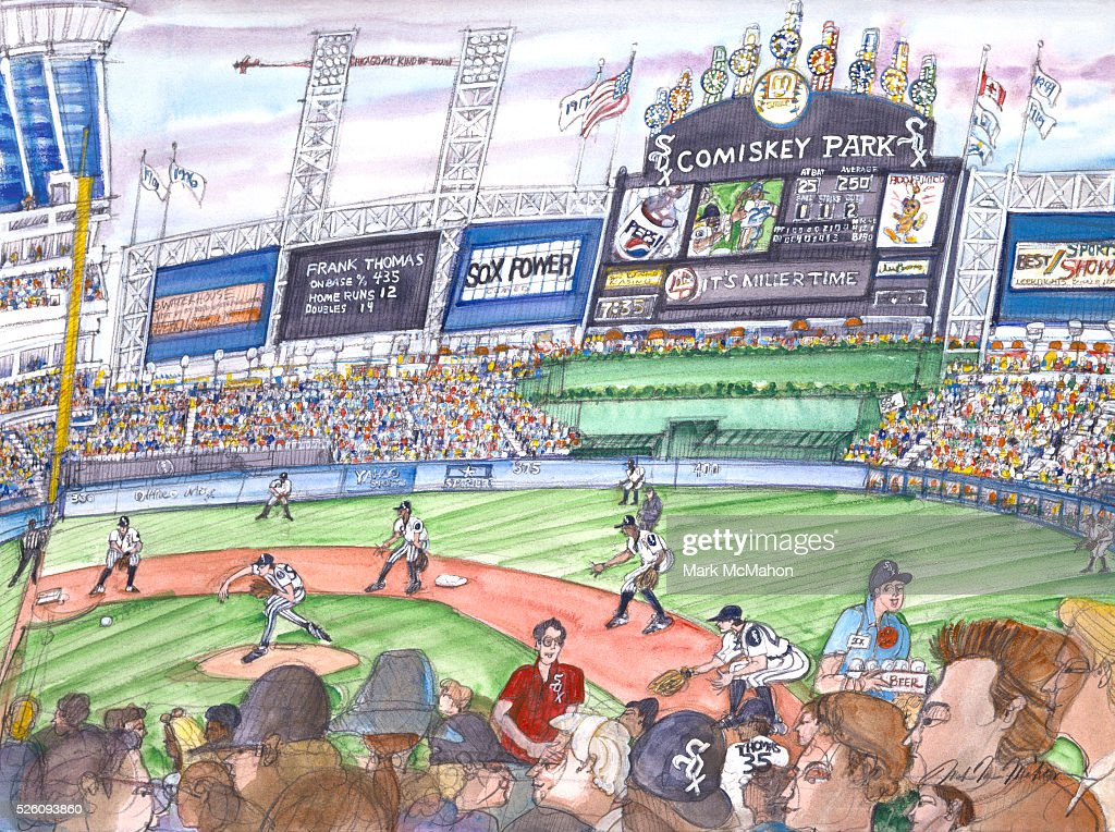 Comiskey Park by Mark McMahon