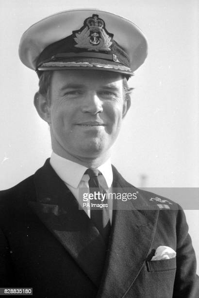 Commander Chris WrefordBrown 37 from Modbury near Plymouth captain of nuclear powered fleet submarine HMS Conqueror in Portsmouth to begin a five day...