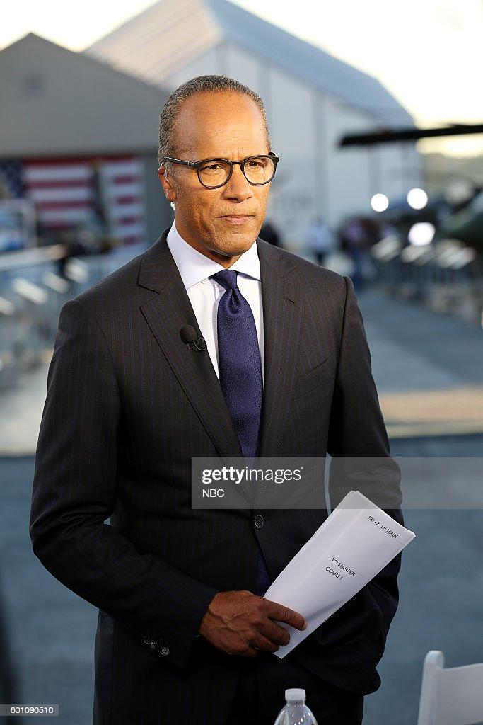 "NBC News' ""Commander-In-Chief Forum"" - 2016"