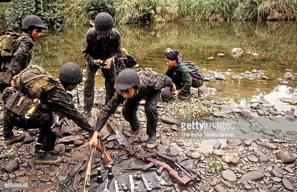 Commandos Training Session at Manipur