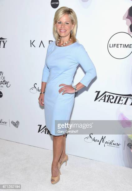 TV commentator and author Gretchen Carlson attends Variety's Power of Women New York luncheon at Cipriani Midtown on April 21 2017 in New York City
