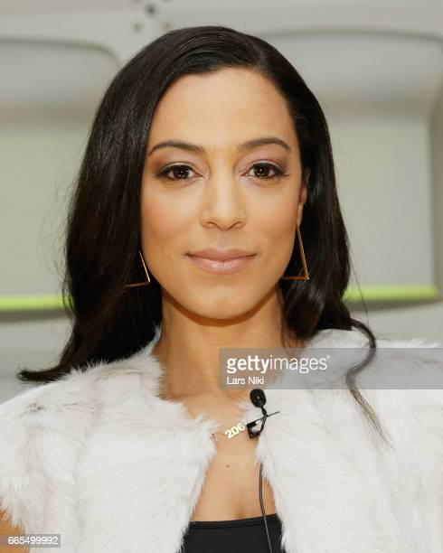 Commentator Angela Rye attends the BET Music Presents Us Or Else panel discussion at the Viacom White Box Hall on April 6 2017 in New York City