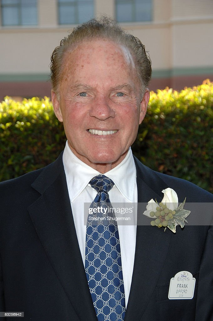 TV commentator Frank Gifford attends the 2008 Disney Legends Ceremony at the Walt Disney Studios on October 13, 2008 in Burbank, California.