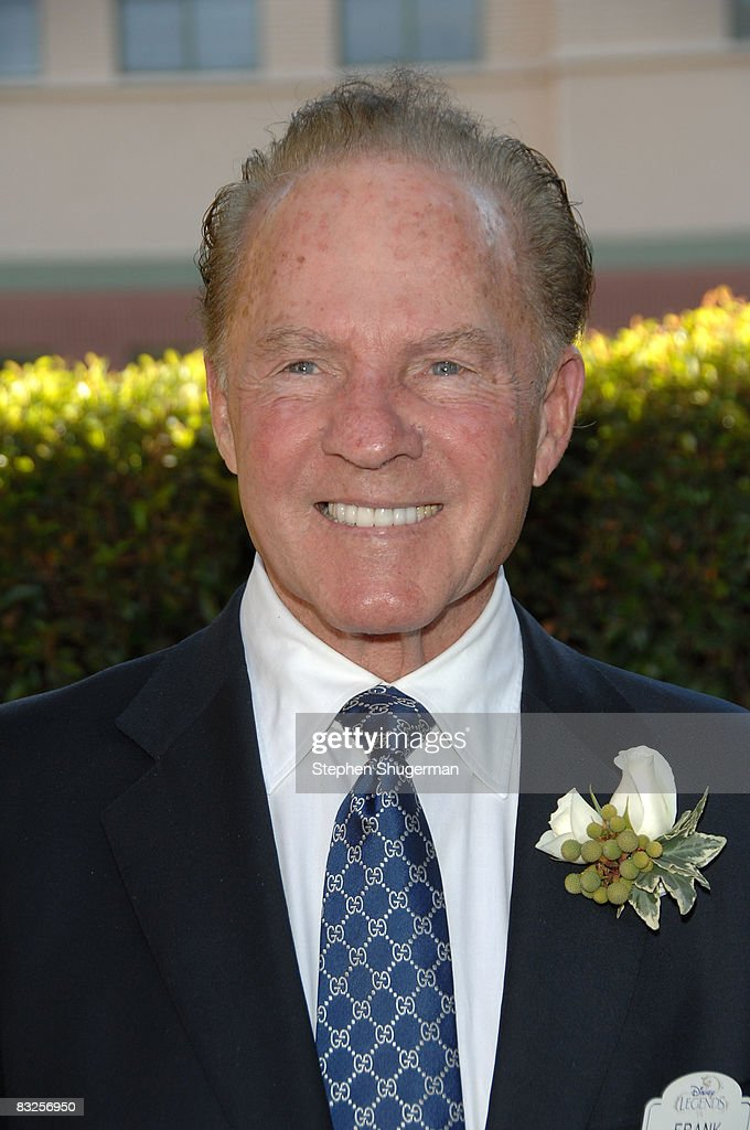 TV commentator Frank Gifford attends the 2008 Disney Legends Ceremony at the Walt Disney Studios on October 13, 2008 in Burbank, California.