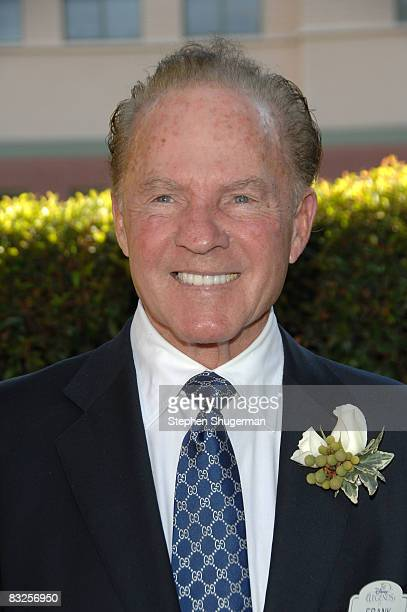 TV commentator Frank Gifford attends the 2008 Disney Legends Ceremony at the Walt Disney Studios on October 13 2008 in Burbank California
