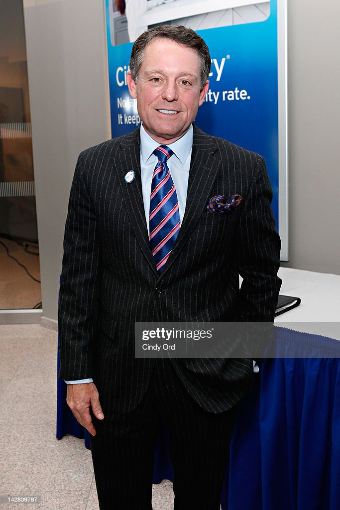 NBC commentator Jimmy Roberts attends the Citi's Team USA Sponsorship Launch at Citibank on April 12, 2012 in New York City.