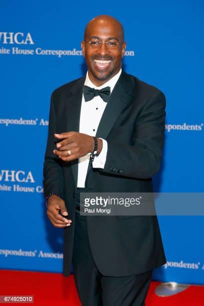 Commentator Van Jones attends the 2017 White House Correspondents' Association Dinner at Washington Hilton on April 29 2017 in Washington DC