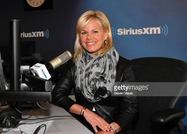 TV commentator/author Gretchen Carlson visits Insight at SiriusXM Studios on April 3 2017 in New York City