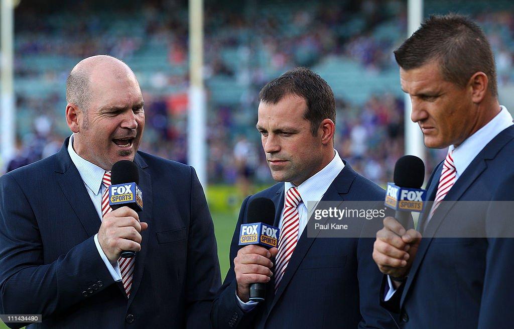 AFL Rd 2 - Fremantle v Geelong