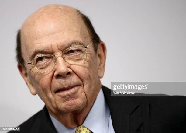 S Commerce Secretary Wilbur Ross speaks at the Bipartisan Policy Institute May 31 2017 in Washington DC Ross participated in a discussion on the...