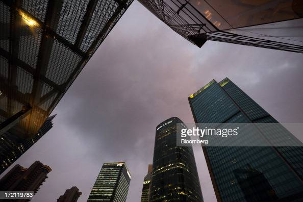 Commercial buildings stand in the Lujiazui district of Shanghai China on Friday June 28 2013 China's President Xi Jinping said officials shouldn't be...