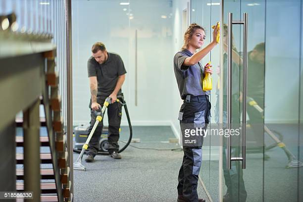 commercial deep clean