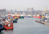 Commercial harbour