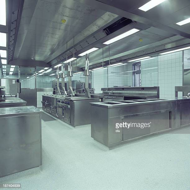 Commercial Kitchen view square formate