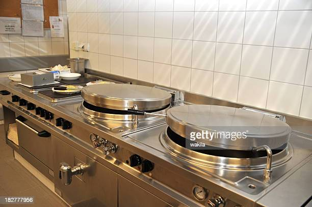 commercial professional kitchen cooking field