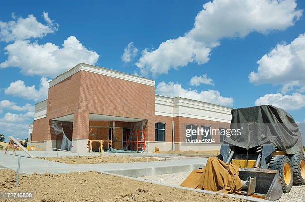 Commercial Real Estate Building Under Construction