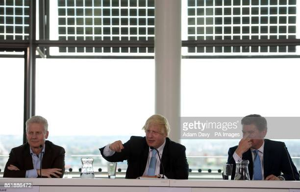 Commercial Secretary to the Treasury and former LOCOG CEO Lord Paul Deighton Mayor of London Boris Johnson and Minister for Sport Hugh Robertson...