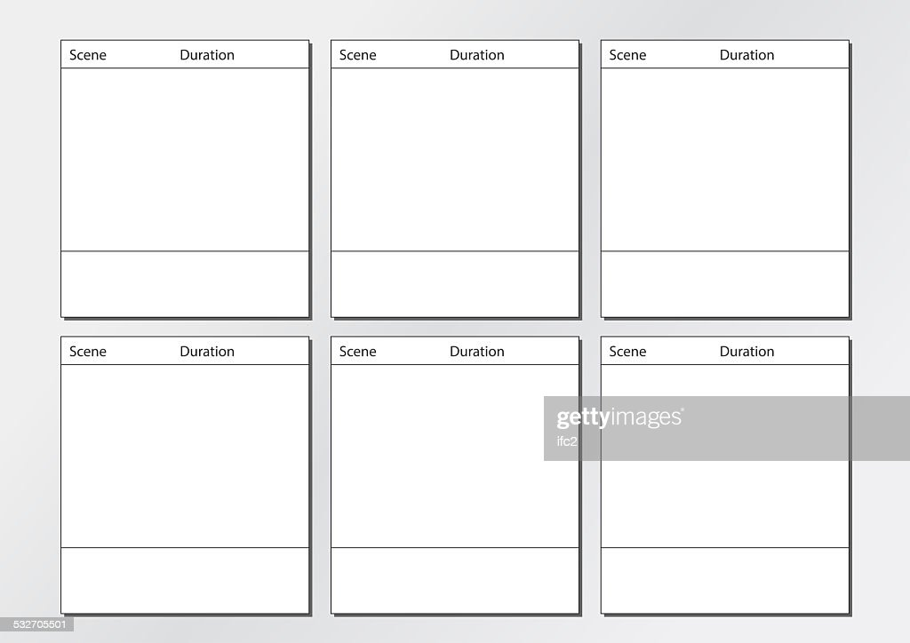 Commercial Storyboard Template  Resume Ideas  NamanasaCom