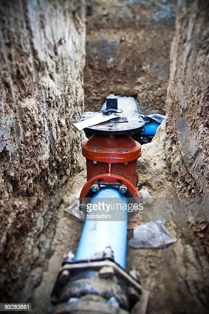 Commercial Water Pipe (Tilt Shift)