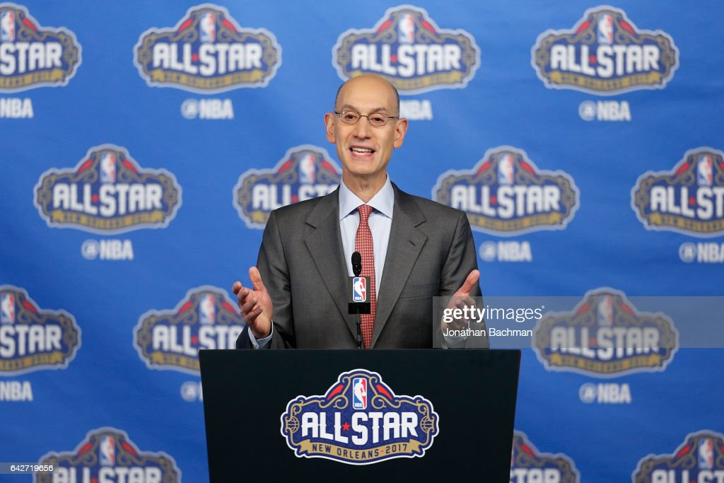 NBA All-Star Game 2017 - Commissioner Adam Silver Press Conference