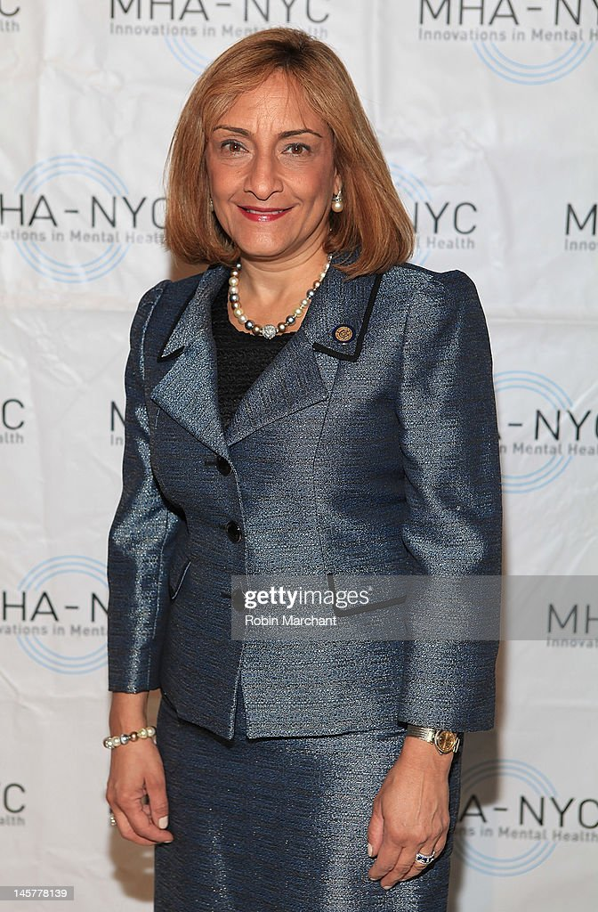 Commissioner Arlene Gonzalez Sanchez attends Bridges To Mental Health: A Celebration Of Hope Gala at Cipriani 42nd Street on June 5, 2012 in New York City.