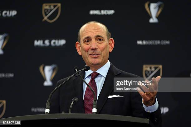 Commissioner Don Garber held his annual Major League Soccer State of the League Address and press conference one day before MLS Cup 2016 The address...