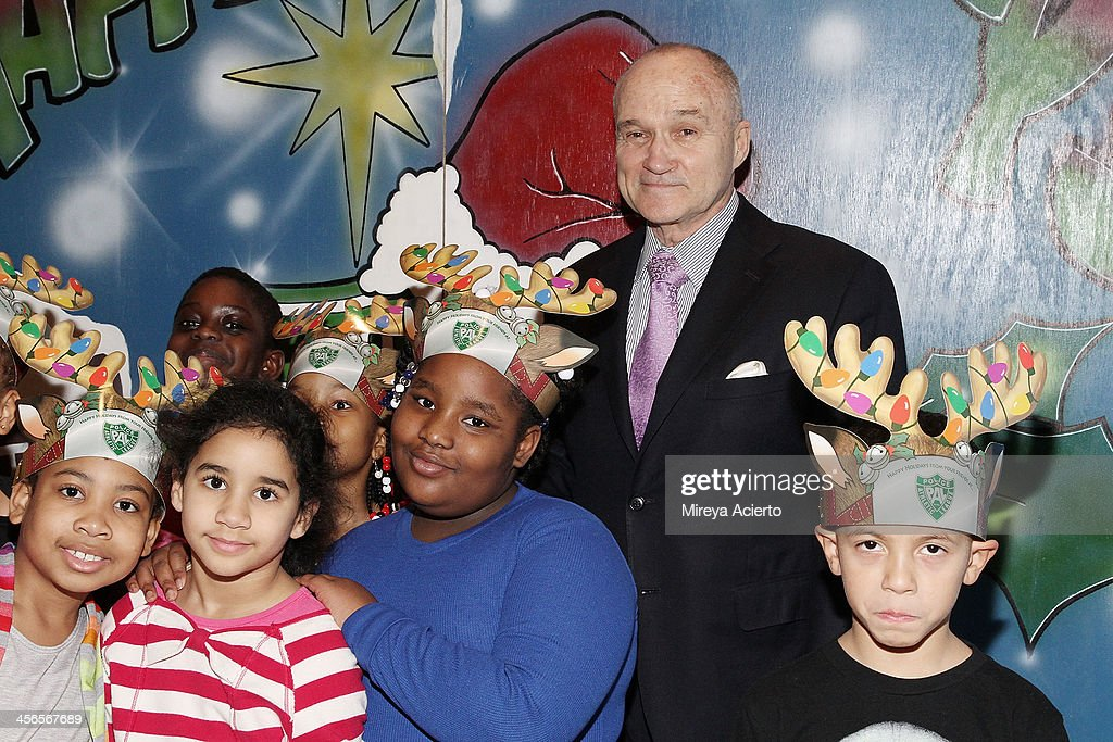 Commissioner of New York Raymond Kelly attends CitySightseeing New York 2013 holiday toy drive at PAL's Harlem Center on December 14, 2013 in New York City.