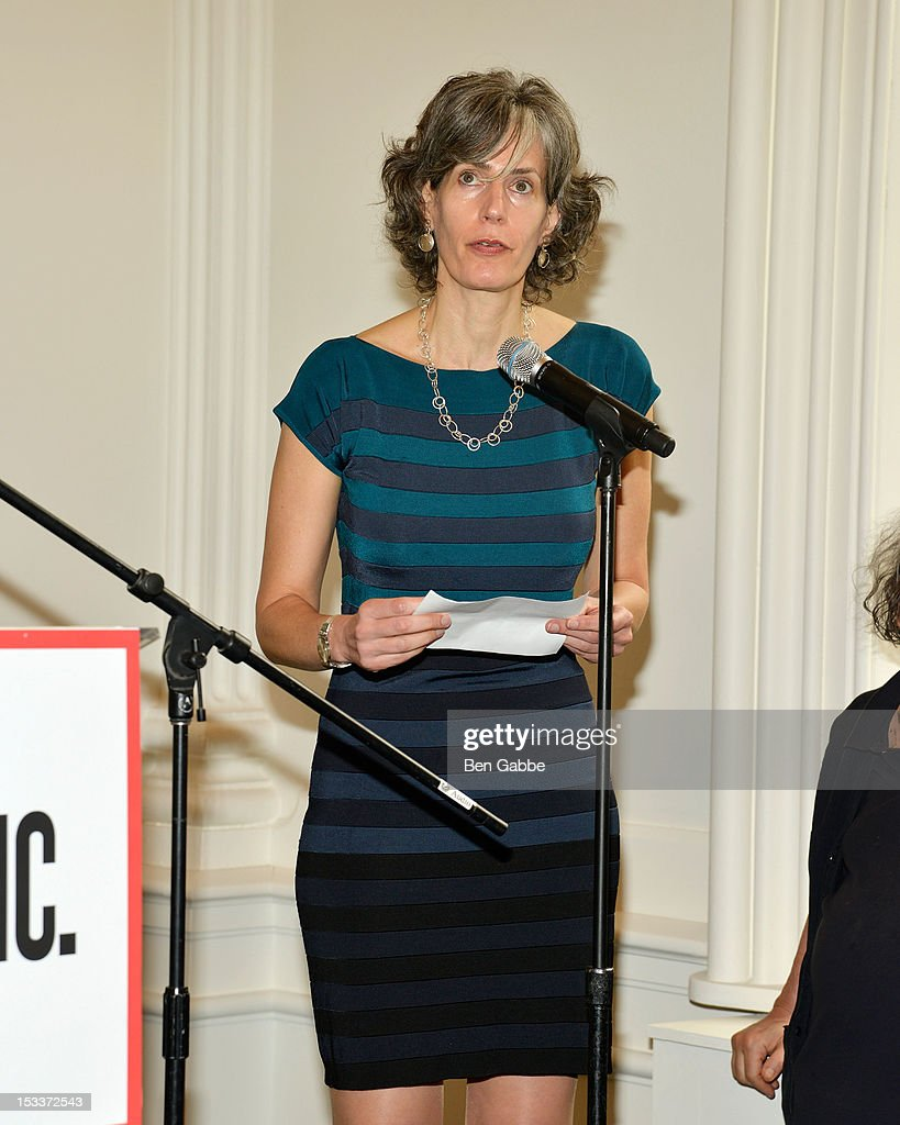 Commissioner of the Department of Cultural Affairs Kate D. Levin attends the Public Theater unveiling on October 4, 2012 in New York City.