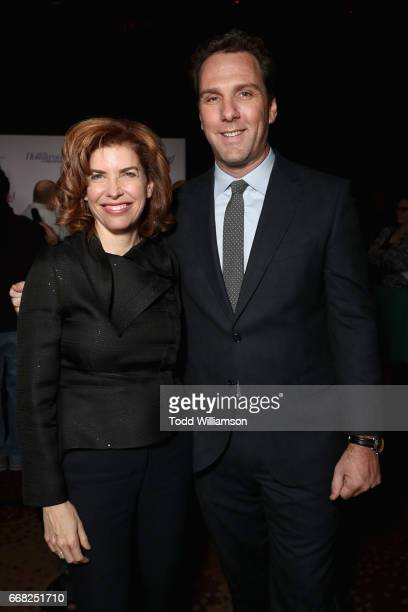 Commissioner of the New York City Mayor's Office of Media and Entertainment Julie Menin and Executive Editor at The Hollywood Reporter Matt Belloni...
