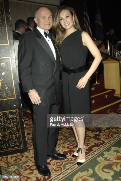 Commissioner Ray Kelly and Thalia attend NEW YORK CITY POLICE FOUNDATION 31st Annual Gala at Waldorf Astoria on March 3 2009 in New York City