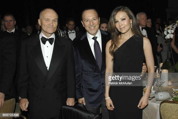 Commissioner Ray Kelly Tommy Mottola and Thalia attend NEW YORK CITY POLICE FOUNDATION 31st Annual Gala at Waldorf Astoria on March 3 2009 in New...