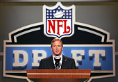 NFL Commissioner Roger Goodell during the NFL draft at Radio City Music Hall in New York NY on Saturday April 28 2007