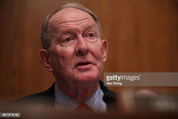 Committee chairman Sen Lamar Alexander speaks during a confirmation hearing of Health and Human Services Secretary Nominee Rep Tom Price January 17...