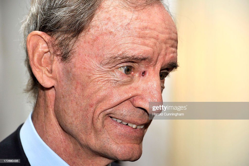 Committee Member <a gi-track='captionPersonalityLinkClicked' href=/galleries/search?phrase=Jean-Claude+Killy&family=editorial&specificpeople=223880 ng-click='$event.stopPropagation()'>Jean-Claude Killy</a> attends the presentation rooms for the 3rd Summer Youth Olympic Games in 2018 bid on July 4, 2013 in Lausanne, Switzerland. The IOC Extraordinary Session held on the two days will allow IOC members to follow the 2020 summer Olympics candidate cities bids, the IOC presidential candidates briefing, and will elect the host city of the 3rd Summer Youth Olympic Games in 2018.