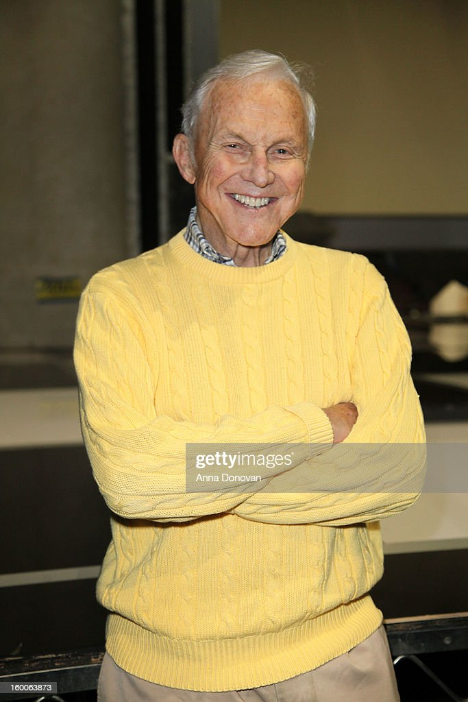Committee member Paul Napier attends Award ceremony and Gala behind-the-scenes set up for the 19th Annual Screen Actors Guild Awards at The Shrine Expo Hall on January 25, 2013 in Los Angeles, California.