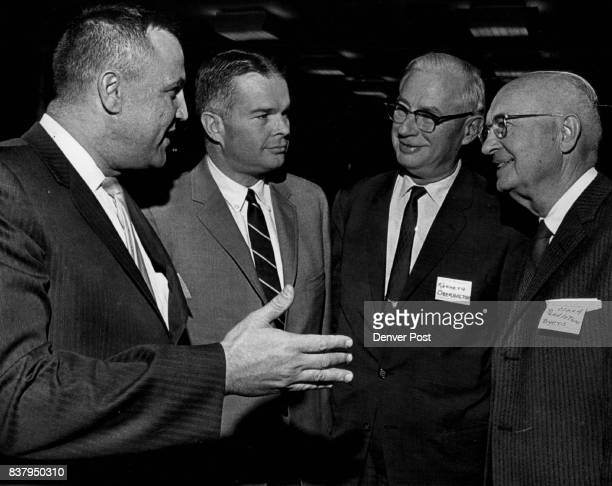 OCT 20 1964 OCT 21 1964 Committee of the Colorado Bar Association meets Tuesday with Denver public school officials to discuss the successful program...