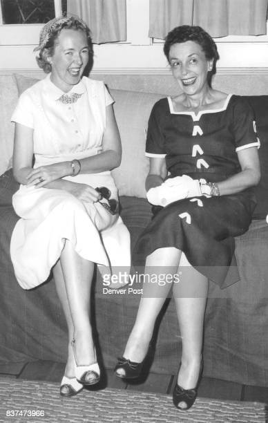Committee workers for the benefit performance of 'Harvey' opening June 13 at Bonfils Memorial theater include Mrs Thomas Daly II and Mrs James Woods...