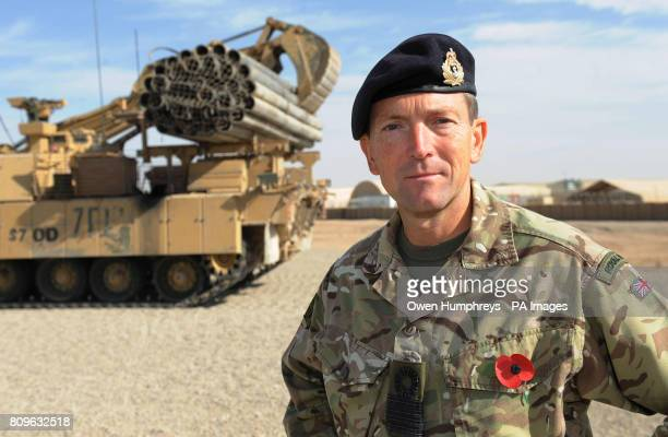 Commodore Clive Walker commander of Joint Force Support in Afghanistan at Camp Bastion the main UK base in Helmand province Afghanistan who spoke...