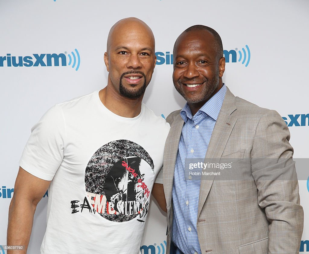 Common and Jeff Friday visit at SiriusXM Studio on May 31, 2016 in New York City.