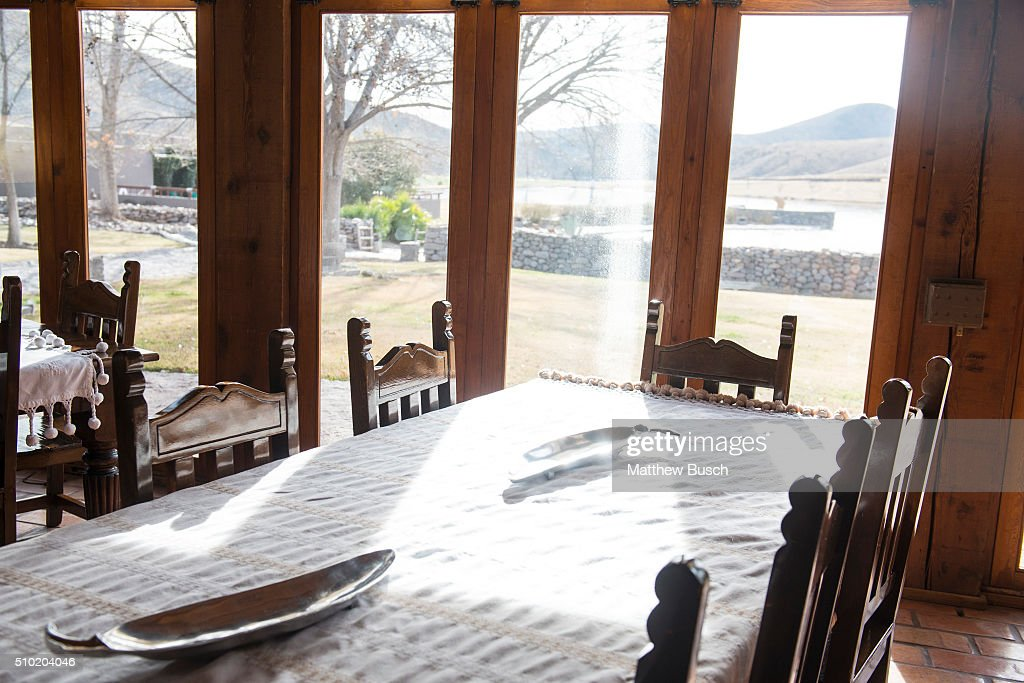 A common area at Cibolo Creek Ranch where Supreme Court Justice Antonin Scalia spent time the night before he was found dead in his room at the West Texas Resort ranch that stretches over 30,000 acres, February 14 , 2016 in Shafter, Texas. Justice Scalia was 79.